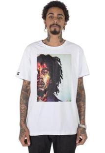 Camiseta Masculina Stoned Bob Marley Four Masculina - Masculino