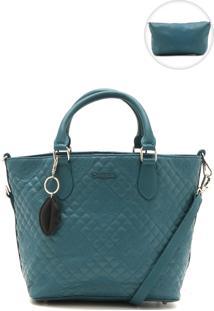Bolsa Desigual Matelassê Azul