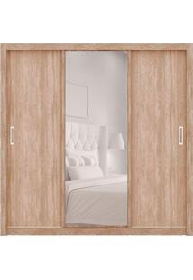 Guarda-Roupa Casal Com Espelho Residence Ii 3 Pt 2 Gv Nogal
