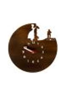 Relógio De Parede Decorativo - Modelo Milonga Gaúcha