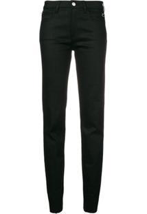 1017 Alyx 9Sm Calça Jeans Com Detalhe De Zíper - Preto