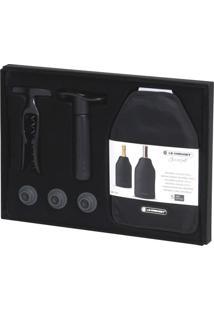 Conjunto Acessórios Para Vinho Gs-137 Preto Le Creuset
