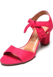 Sandália Vizzano Amarração Pink