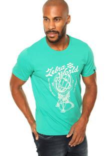 Camiseta Zebra Sphere Verde