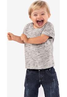 Camiseta Mesclada Niños 500052
