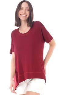T-Shirt Amazonia Vital Basic Bordô