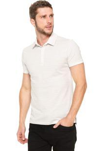 Camisa Polo Handbook Listrado Off-White