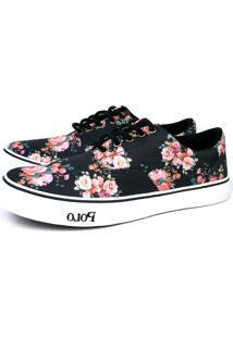 Tênis Polo Trivalle Shoes Floral