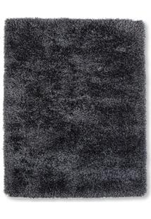 Tapete New Soft Mix Poliéster 200X150Cm Preto