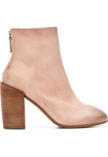 Marsèll Ankle Boot Com Salto Bloco - Neutro