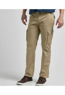 Calça Cargo Squam Lake Straight Twill
