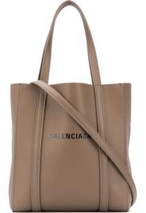 Balenciaga Xxs Everyday Tote Bag - Marrom