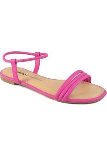 Sandália Rasteira Tiras Verão 2021 Dakota Z6231 Feminina - Feminino-Pink