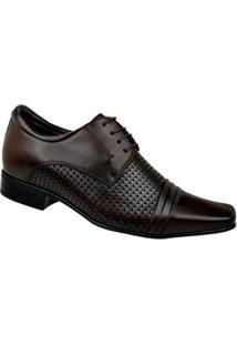 Sapato Social Couro Constantino - Masculino-Marrom
