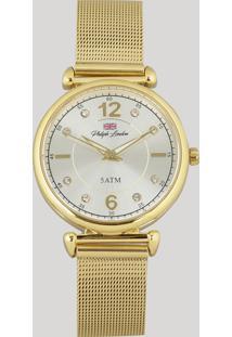 Relógio Analógico Philiph London Feminino - Pl81024145F Dourado