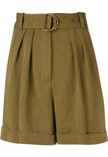 Masscob Olive Casual Shorts - Verde