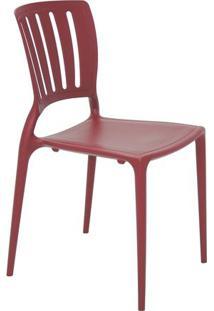Cadeira Sofia- Marsala- 82,5X44,5X53Cm- Tramontitramontina