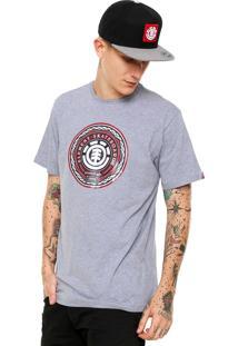 Camiseta Element Spiro Cinza