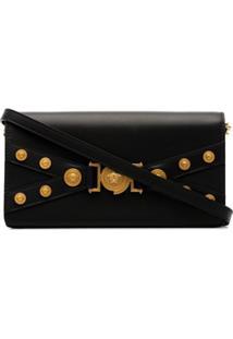 Versace Tribute Clutch Bag - Preto