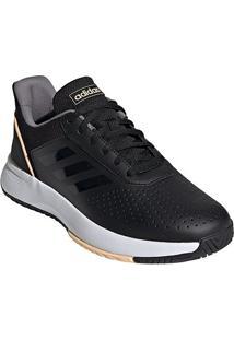 Tênis Adidas Courtsmash Feminino - Feminino-Preto