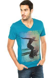 Camiseta Sommer Skate Azul