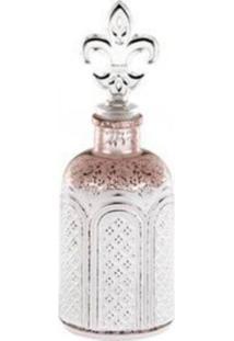 Garrafa Perfumaria Decorativa Antique Iii Prata