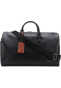 Calvin Klein Bolsa De Viagem Com Tag - Preto