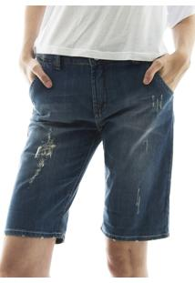 Bermuda Aha Jeans Azul
