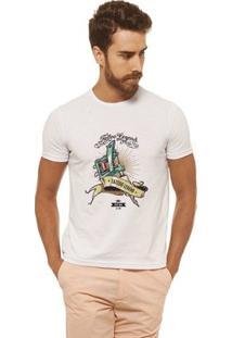Camiseta Joss - Tattoo - Masculina - Masculino-Branco