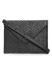 Bolsa Feminina Mini Envelope Bag Limited - Preto