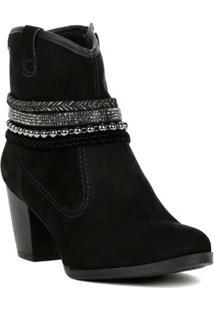 Bota Feminina Dakota Ankle Boot Preto