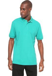 Camisa Polo Forum Reta Listra Verde