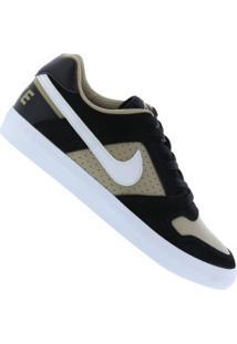 Tênis Nike Sb Delta Force Vulc - Masculino - Preto/Bege