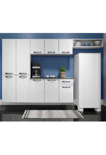 Cozinha Compacta 4 Peças 10 Portas Rubi Smart Siena Móveis