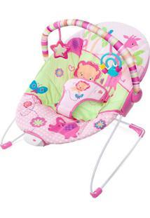 Cadeira De Descanso Animais- Rosa & Verde Claro- 54Xbright Starts