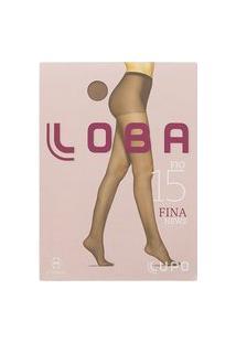 Meia Calça Loba Fina News Fio 15 M Nude