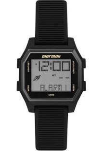 Relógio Digital Mormaii Luau Feminino - Feminino-Preto