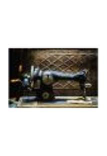 Painel Adesivo De Parede - Máquina De Costura - 977Pnp