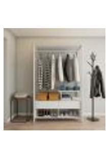 Guarda-Roupa Closet Modulado Maure Branco
