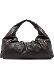 Bottega Veneta Bolsa The Shoulder Pouch - Marrom