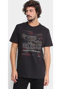 Camiseta Oakley Hive Camo Tee Masculina - Masculino