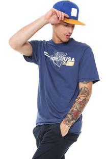 Camiseta Dc Shoes Player Azul