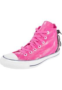 Tênis Converse All Star Ct3779073 As Zip Nu Hi Cool Rosa