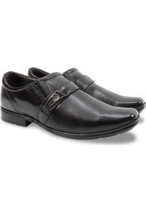 Sapato Masculino Social Pegada Couro 122315 - Masculino-Marrom
