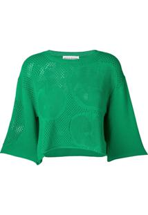 Sonia Rykiel Knitted Apple Blouse - Verde