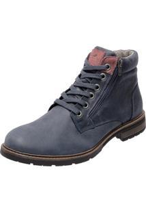 Bota Mega Boots 8006 Azul Marinho