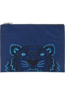 Kenzo Bolsa Carteira 'Tiger' - Azul