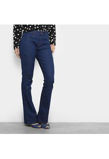 22e5f1866 ... Calça Jeans Flare Cantão Cintura Média Feminina - Feminino