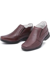 Sapato Torani Abotinado Couro Café