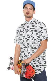 Camisa Element Reta River Shirt Branca